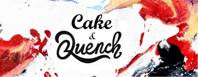 cake and quench banner